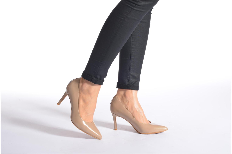 High heels Clarks Dinah Keer Blue view from underneath / model view