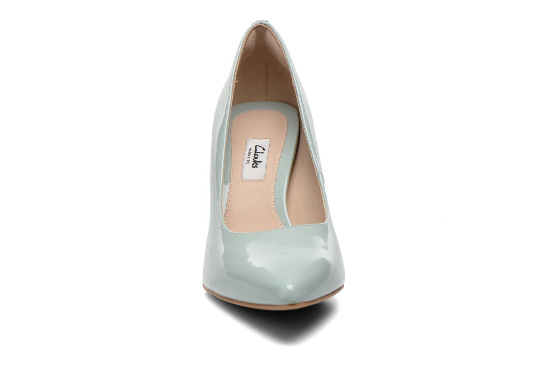 High heels Clarks Dinah Keer Blue model view