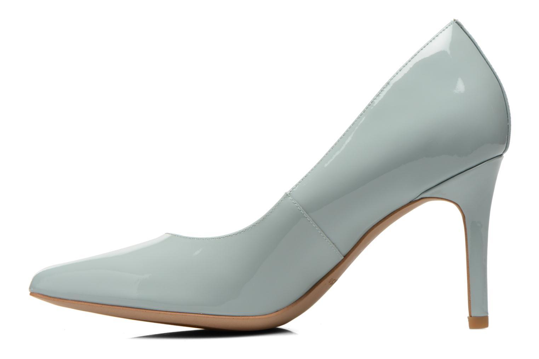 High heels Clarks Dinah Keer Blue front view