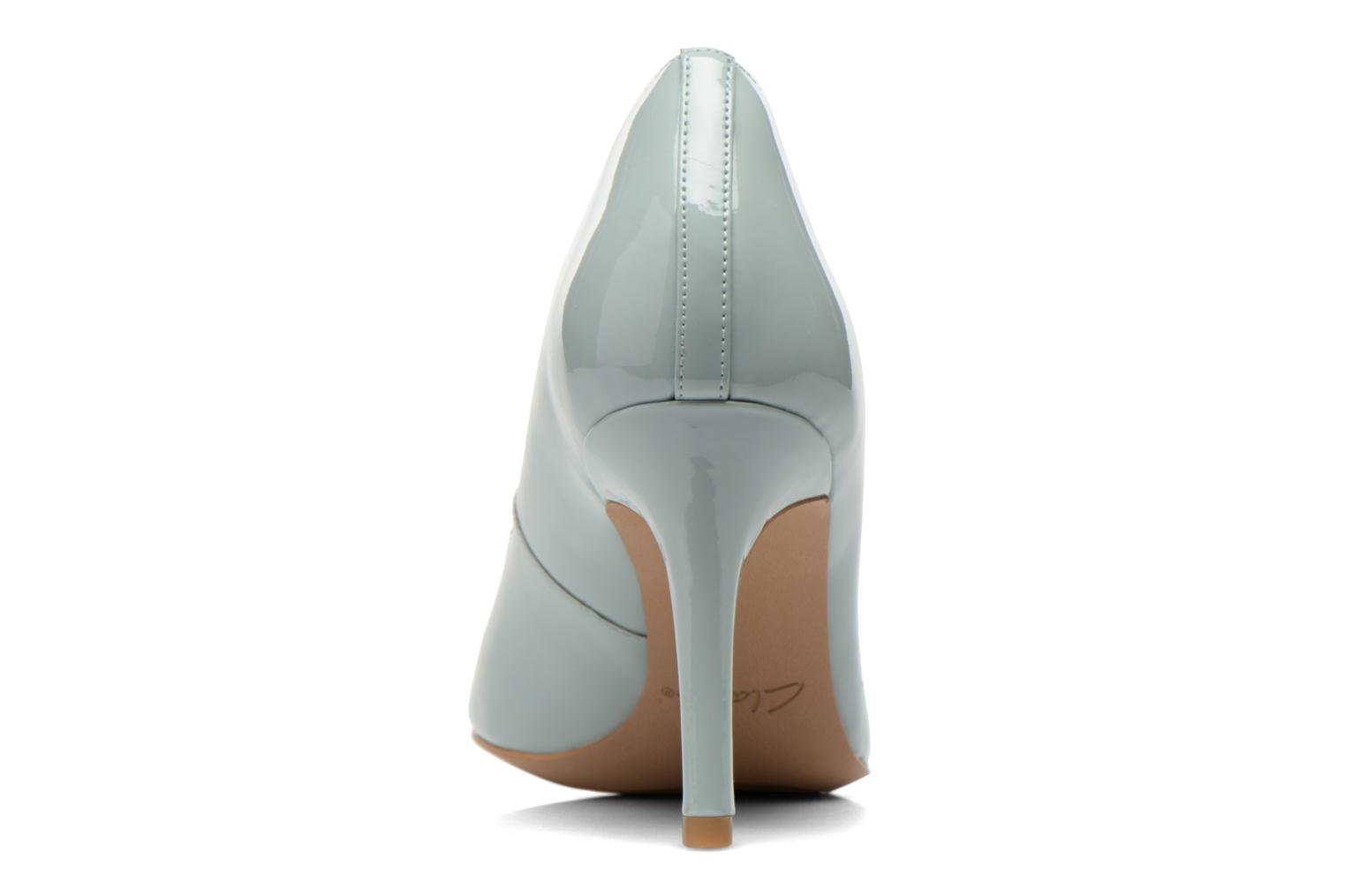 High heels Clarks Dinah Keer Blue view from the right