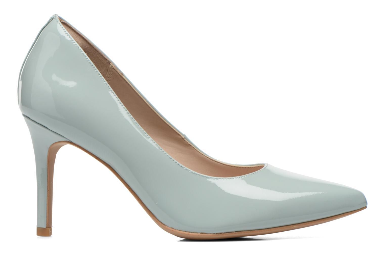 High heels Clarks Dinah Keer Blue back view