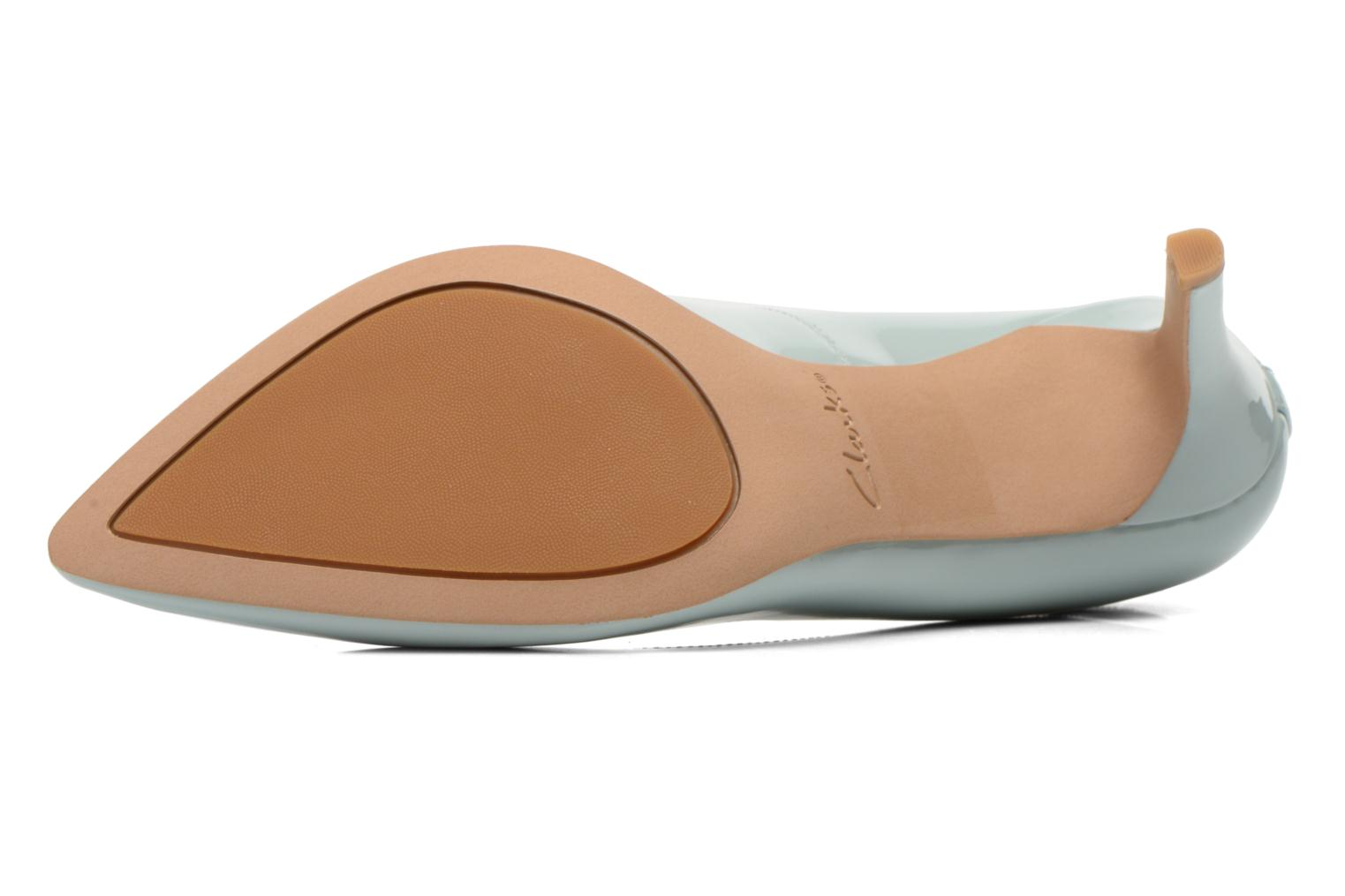 High heels Clarks Dinah Keer Blue view from above