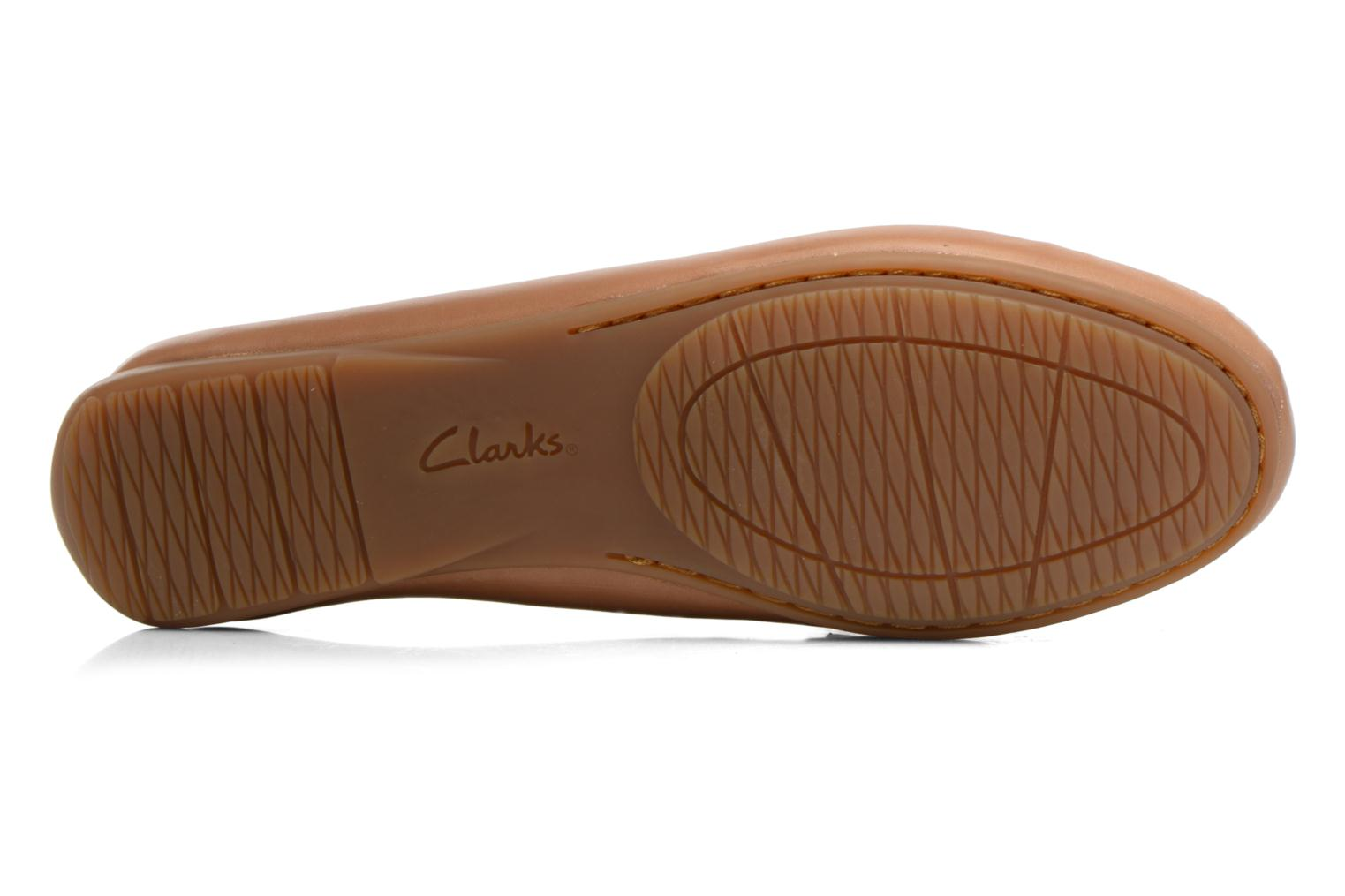 Loafers Clarks Doraville Nest Brown view from above