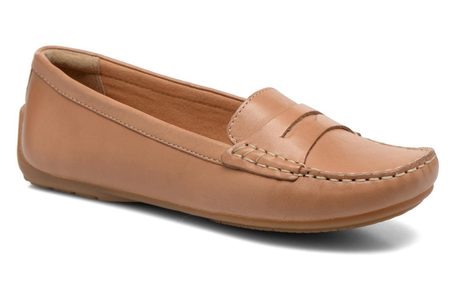Loafers Clarks Doraville Nest Brown detailed view/ Pair view