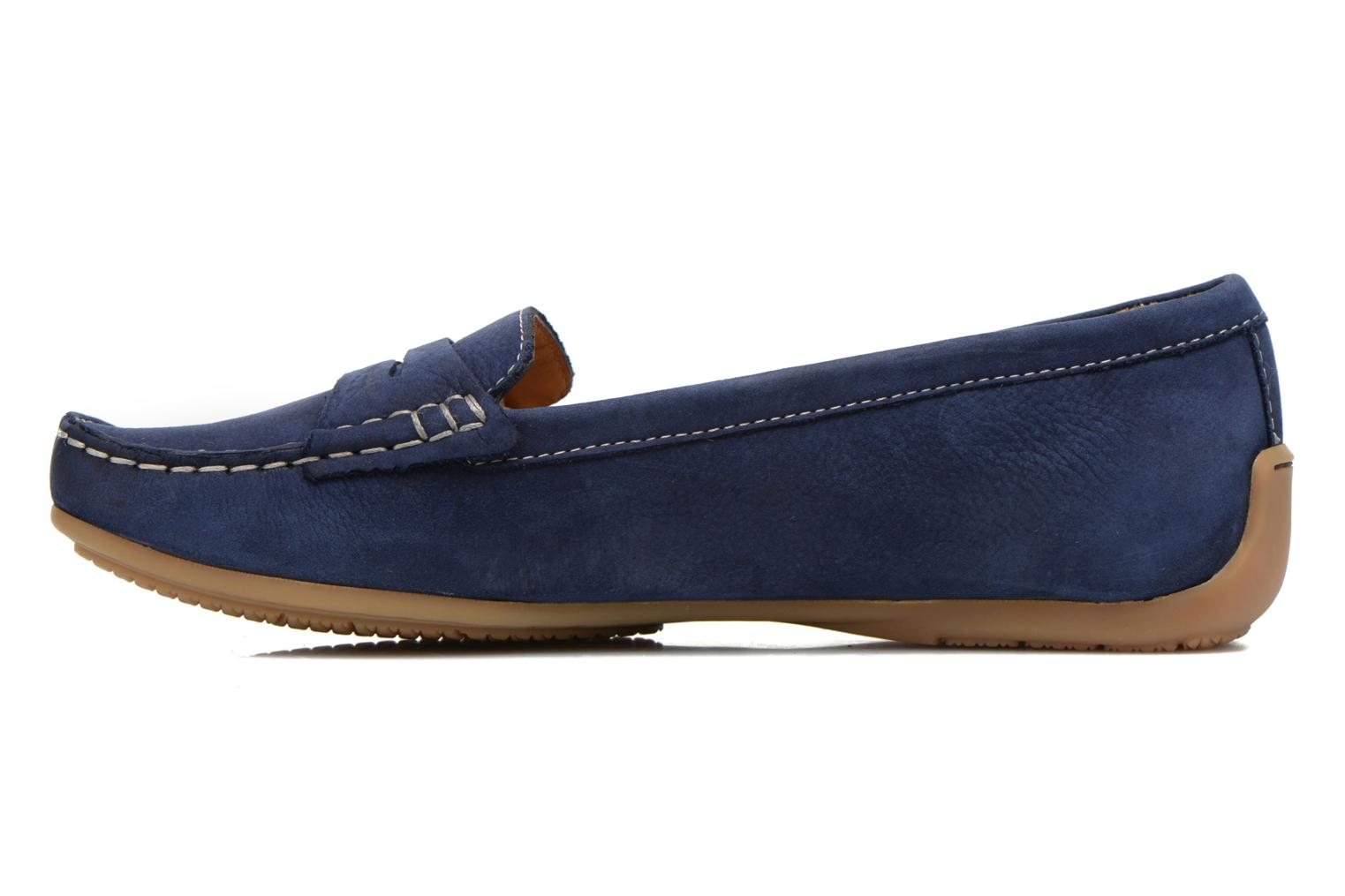 Loafers Clarks Doraville Nest Blue front view