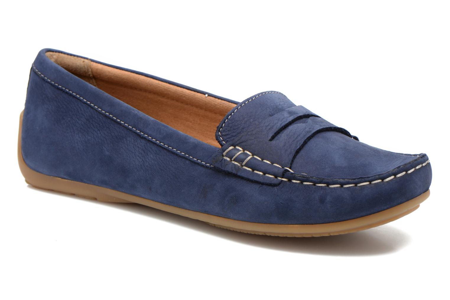 Loafers Clarks Doraville Nest Blue detailed view/ Pair view