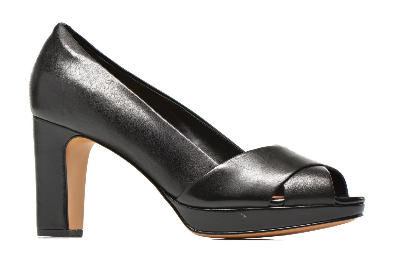 Zapatos de tacón Clarks Jenness Cloud Negro vistra trasera