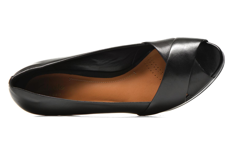 Zapatos de tacón Clarks Jenness Cloud Negro vista lateral izquierda