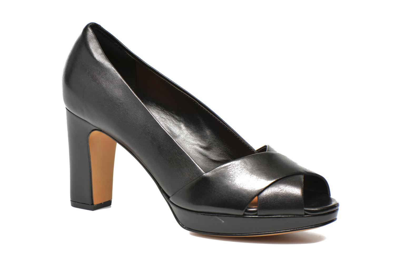 Zapatos de tacón Clarks Jenness Cloud Negro vista de detalle / par