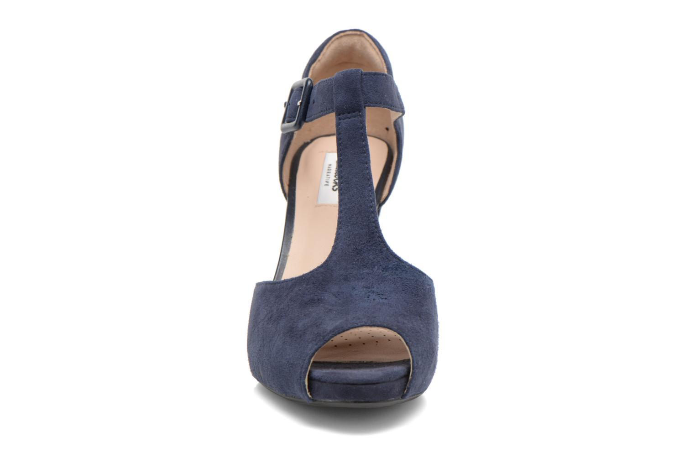Høje hæle Clarks Kendra Flower Blå se skoene på
