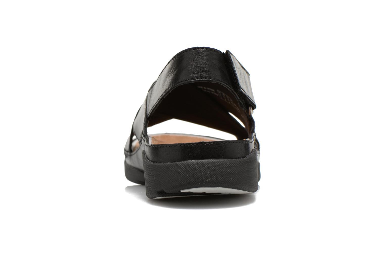 Sandales et nu-pieds Clarks Tri Alexia Noir vue droite