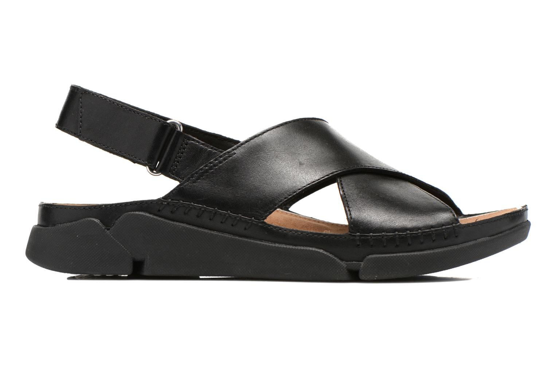 Sandales et nu-pieds Clarks Tri Alexia Noir vue derrière