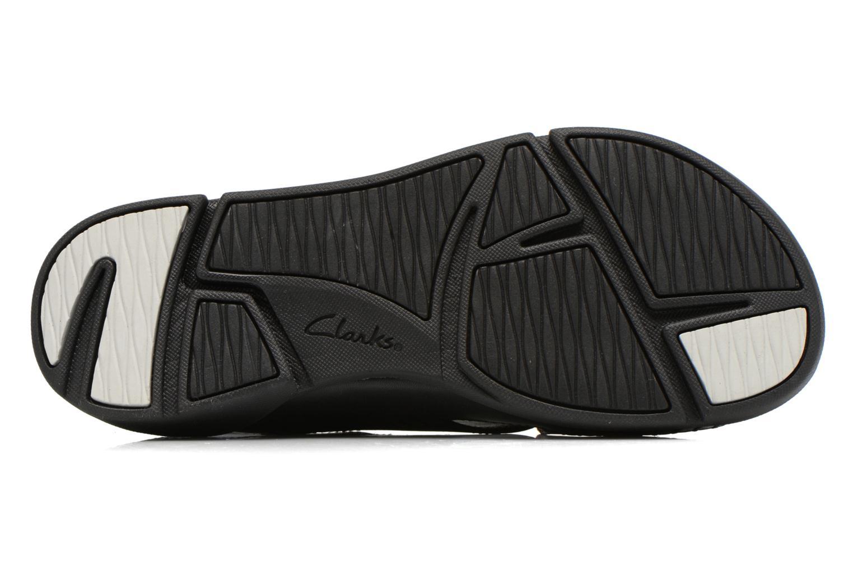 Sandales et nu-pieds Clarks Tri Alexia Noir vue haut
