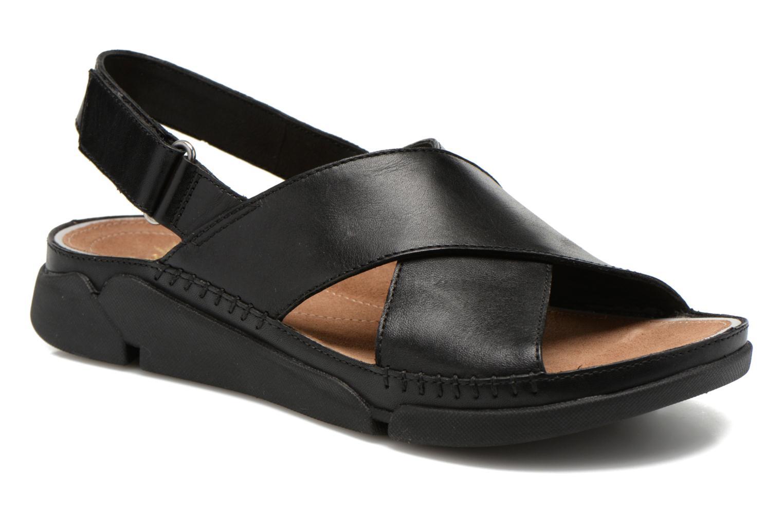 Sandales et nu-pieds Clarks Tri Alexia Noir vue détail/paire