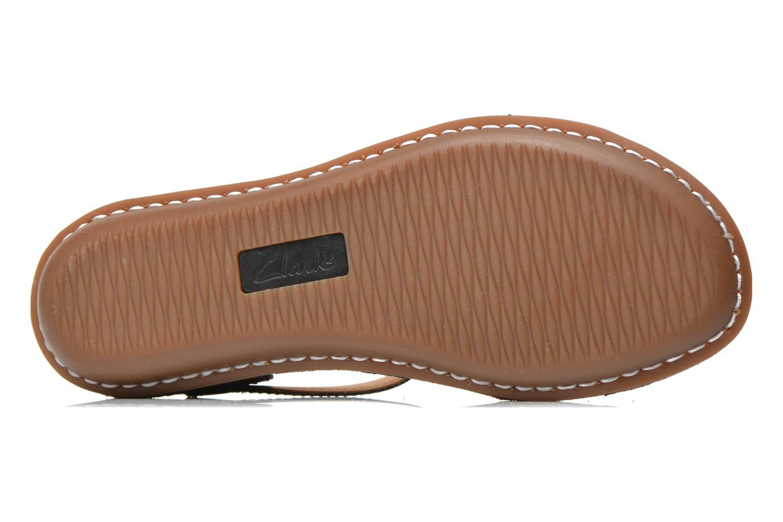Sandales et nu-pieds Clarks Tustin Sahara Noir vue haut