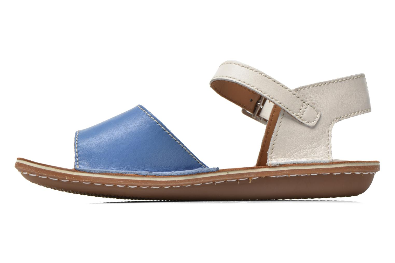 Sandales et nu-pieds Clarks Tustin Sinitta Bleu vue face