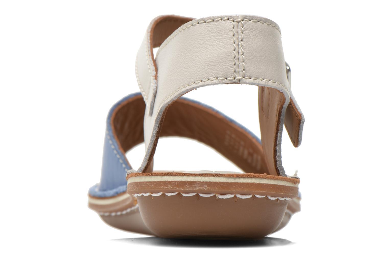Sandales et nu-pieds Clarks Tustin Sinitta Bleu vue droite