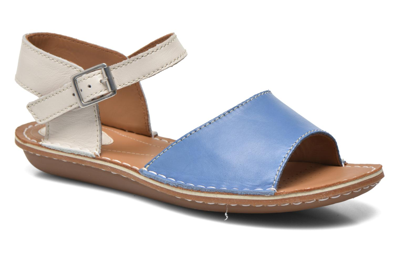 Sandales et nu-pieds Clarks Tustin Sinitta Bleu vue détail/paire