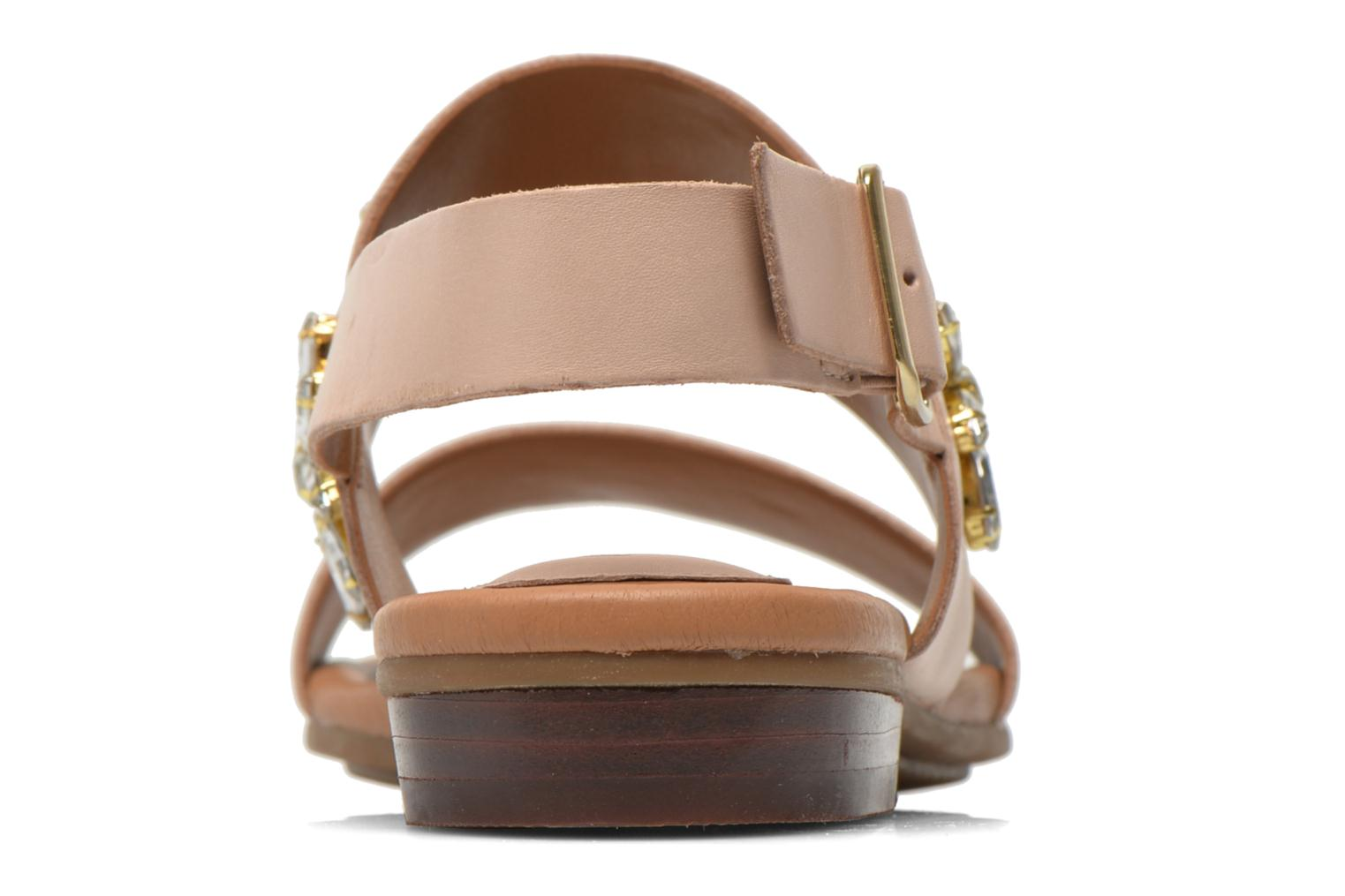 Sandals Clarks Viveca Melrose Pink view from the right