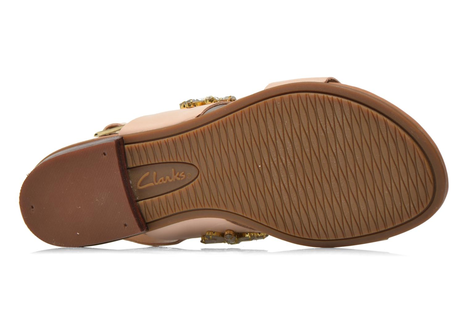 Sandals Clarks Viveca Melrose Pink view from above