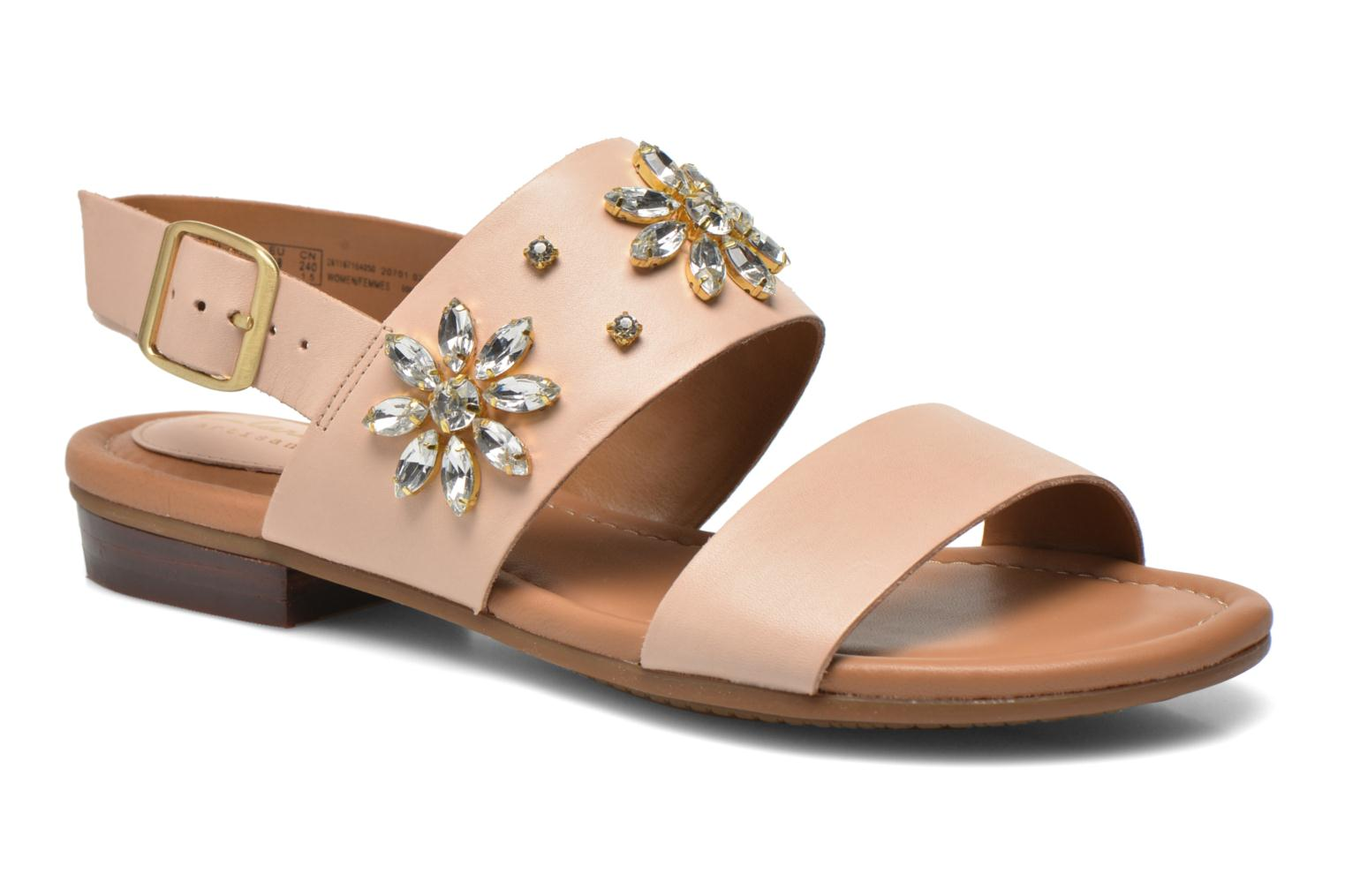 Sandals Clarks Viveca Melrose Pink detailed view/ Pair view