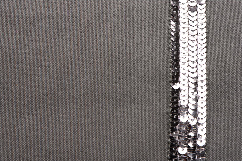 Handtaschen Vanessa Bruno Cabas Coton M+ Zip grau ansicht von links
