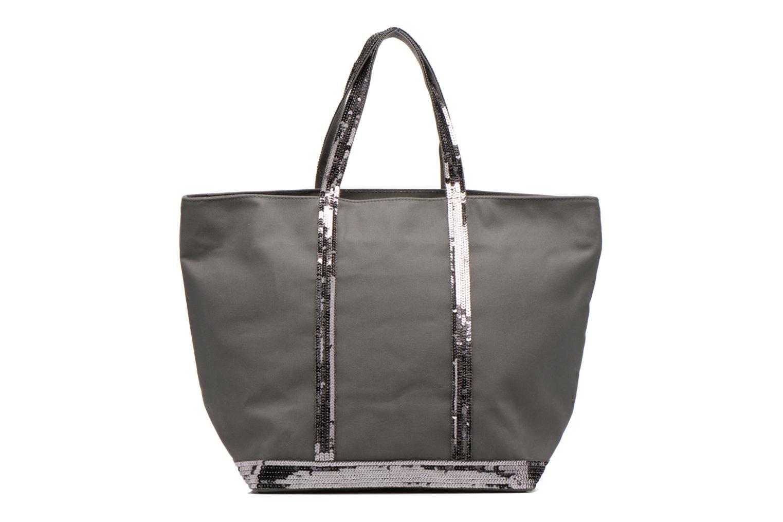 Handtaschen Vanessa Bruno Cabas Coton M+ Zip grau detaillierte ansicht/modell