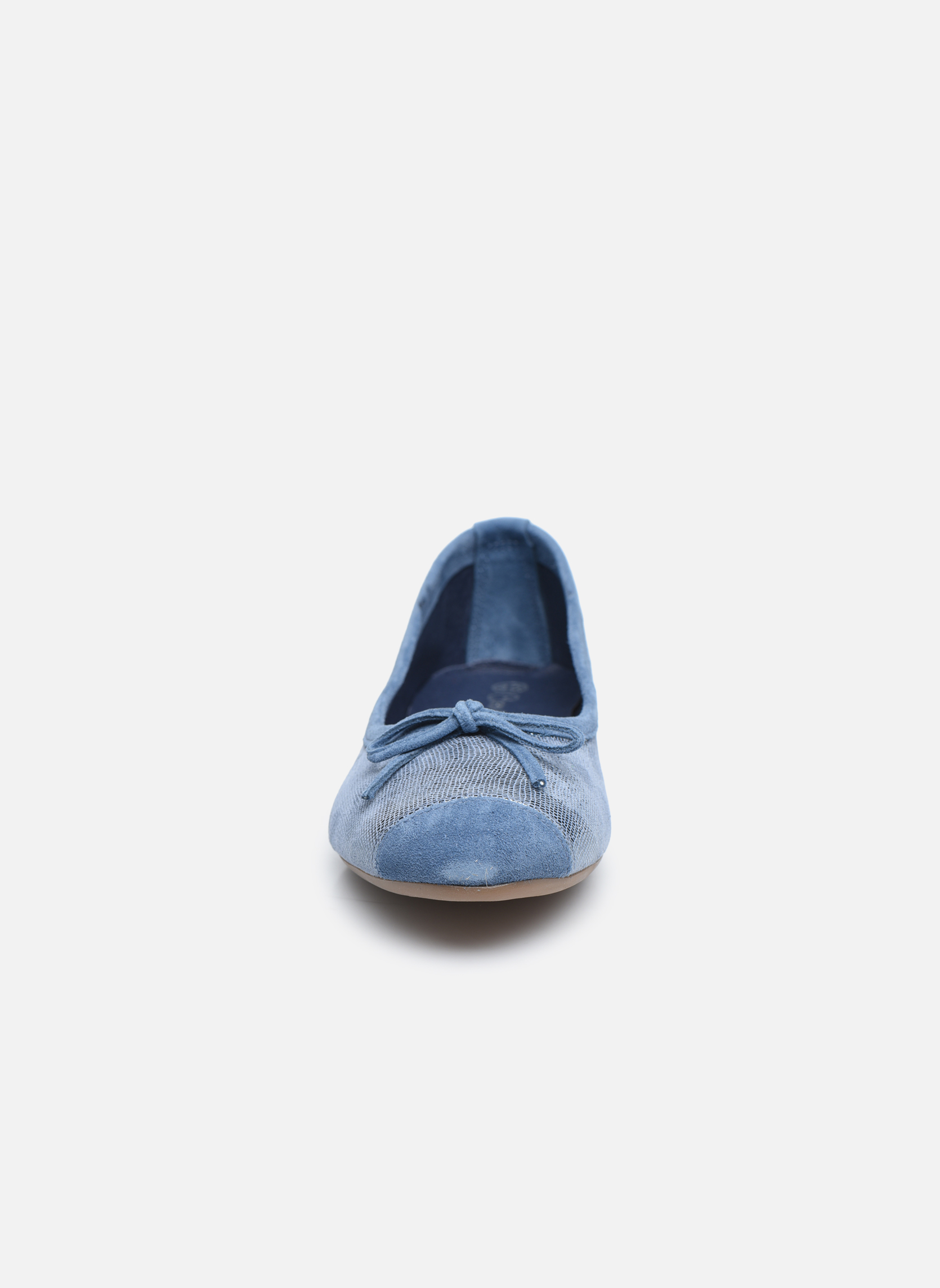 Ballerines Coco et abricot Belline 3 Bleu vue portées chaussures