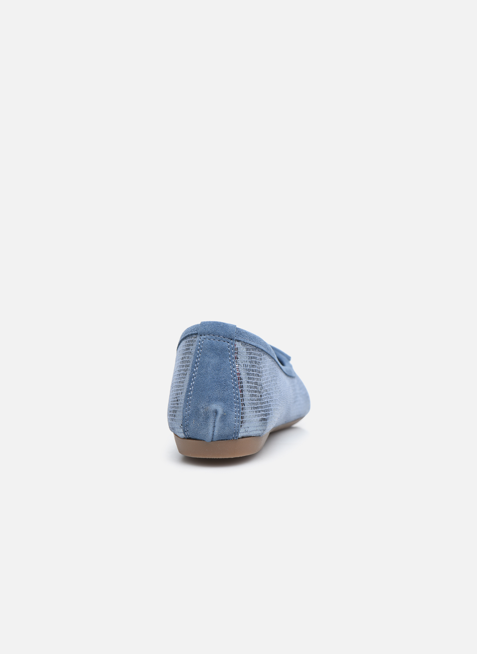 Ballet pumps Coco et abricot Belline 3 Blue view from the right