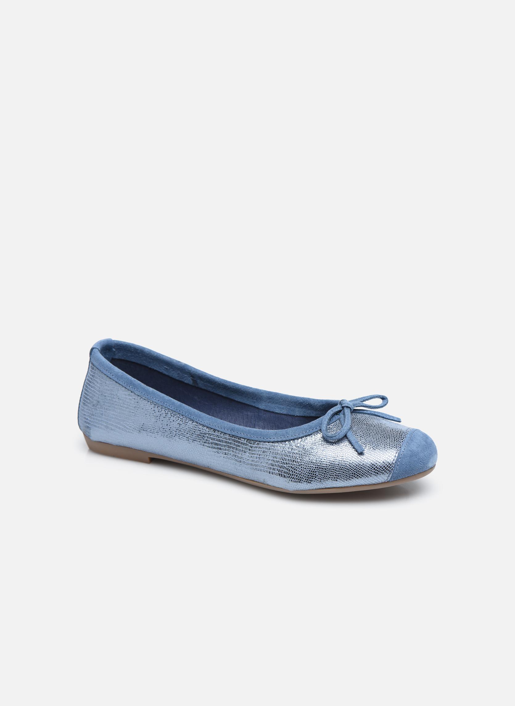Ballerina's Coco et abricot Belline 3 Blauw detail
