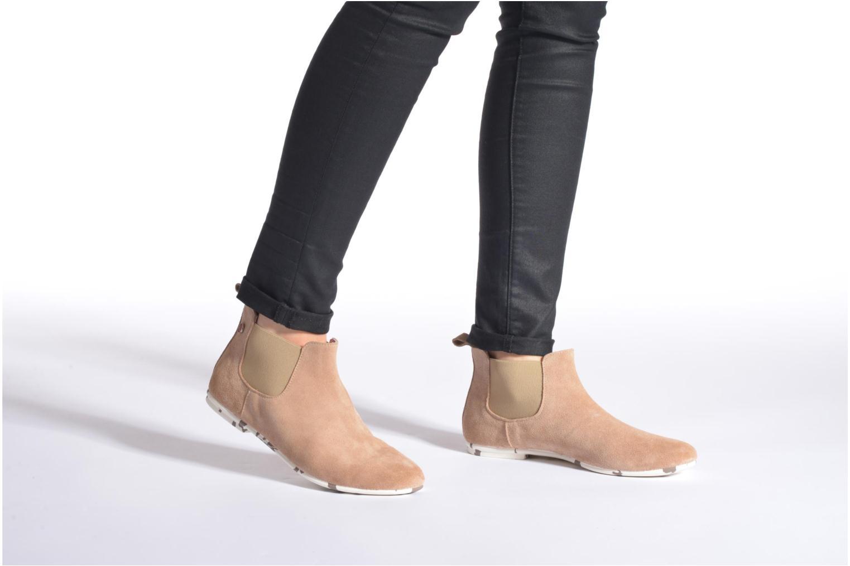 Bottines et boots Yum Gum Kelly Beige vue bas / vue portée sac