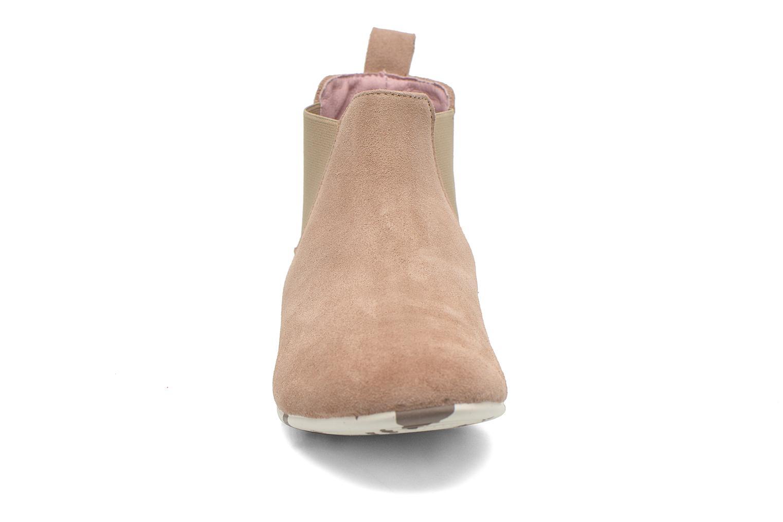 Bottines et boots Yum Gum Kelly Beige vue portées chaussures