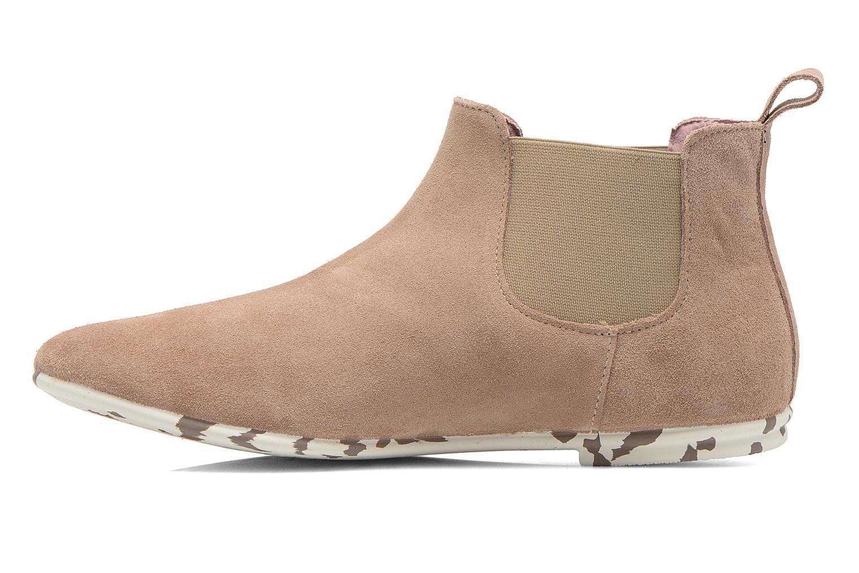 Bottines et boots Yum Gum Kelly Beige vue face