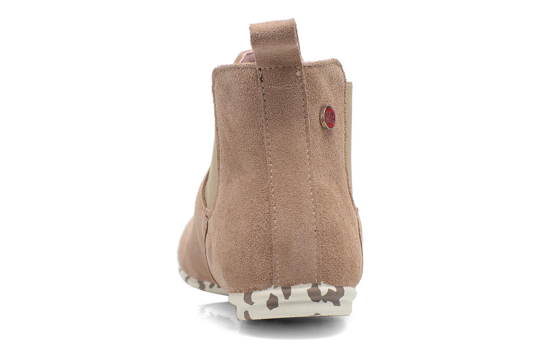 Bottines et boots Yum Gum Kelly Beige vue droite