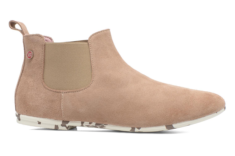 Bottines et boots Yum Gum Kelly Beige vue derrière