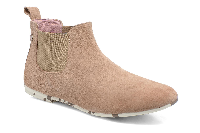 Bottines et boots Yum Gum Kelly Beige vue détail/paire
