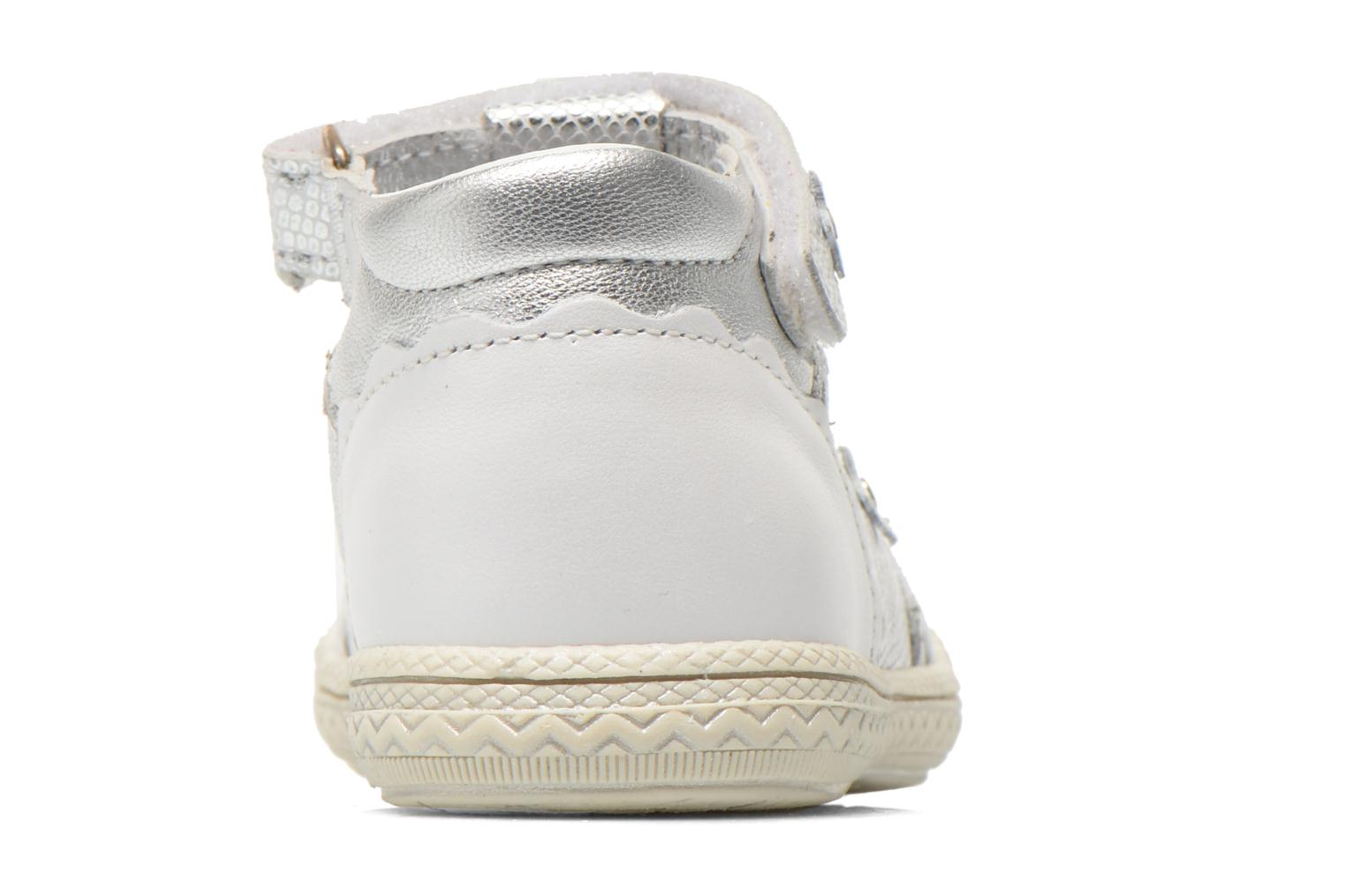 Velcro shoes Bopy Balina White view from the right
