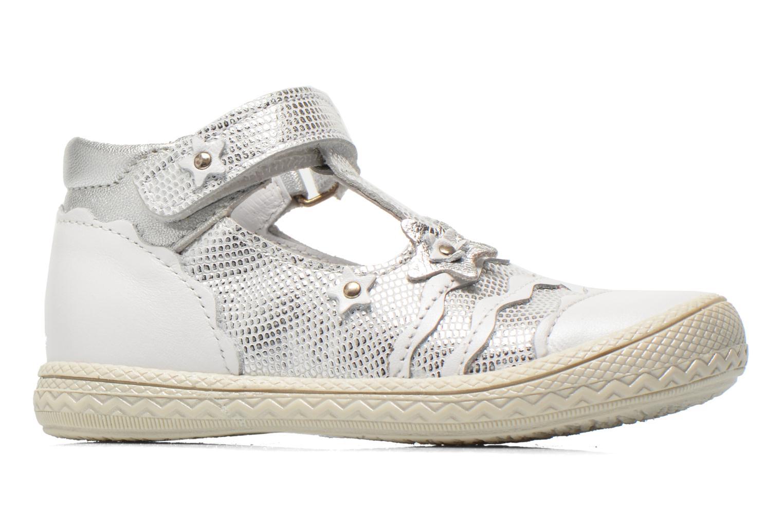 Schoenen met klitteband Bopy Balina Wit achterkant