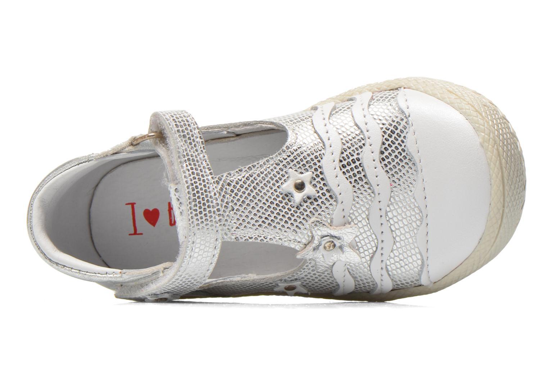 Scarpe con gli strappi Bopy Balina Bianco immagine sinistra