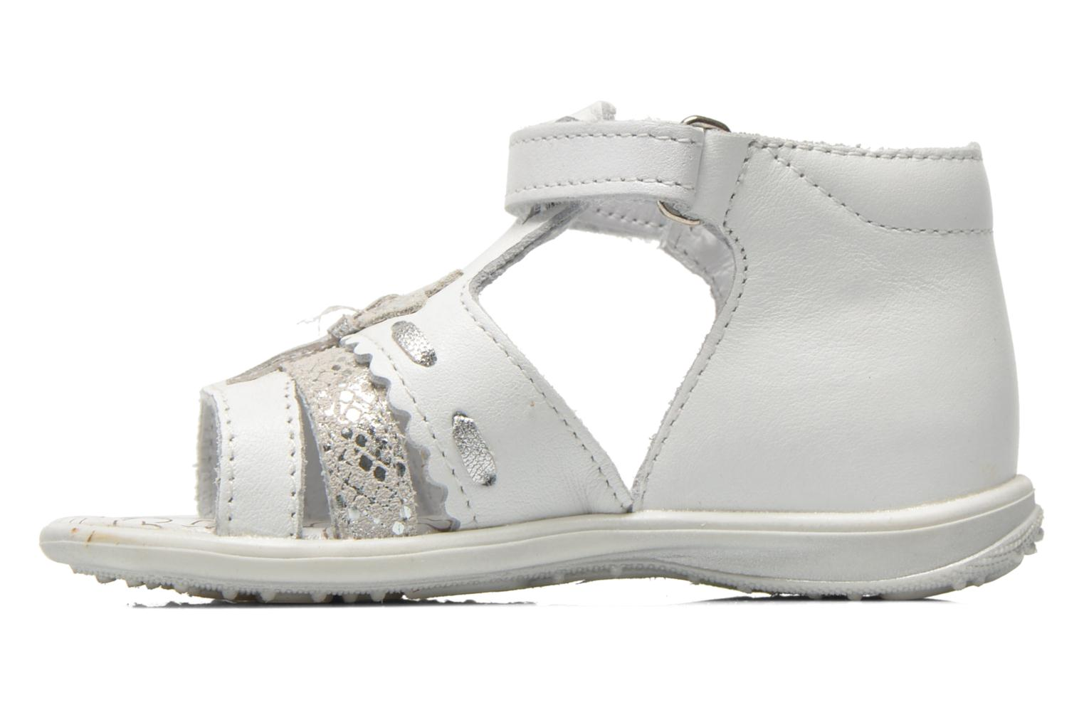 Sandals Bopy Balivel White front view