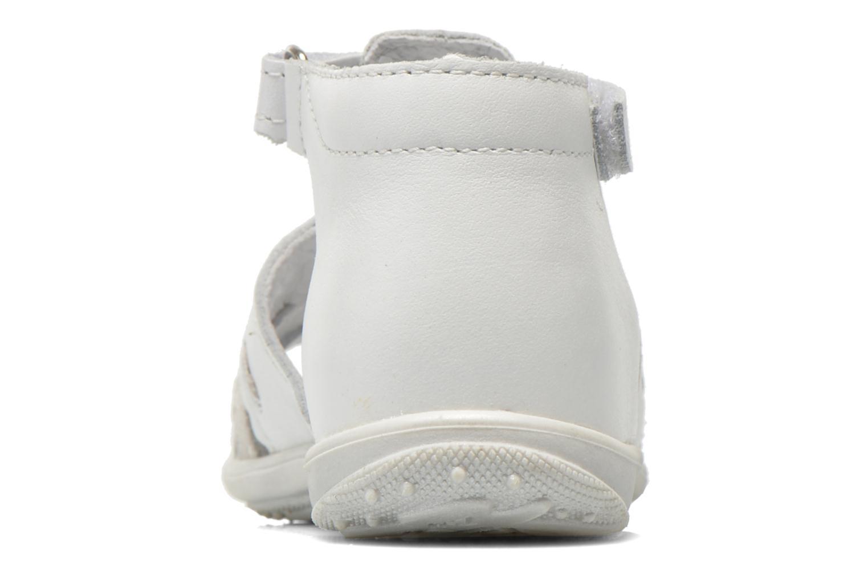 Sandales et nu-pieds Bopy Balivel Blanc vue droite