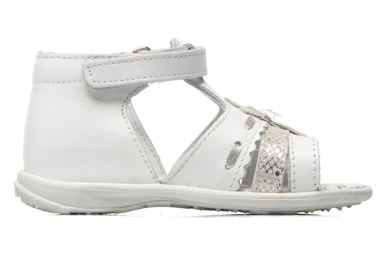 Sandales et nu-pieds Bopy Balivel Blanc vue derrière