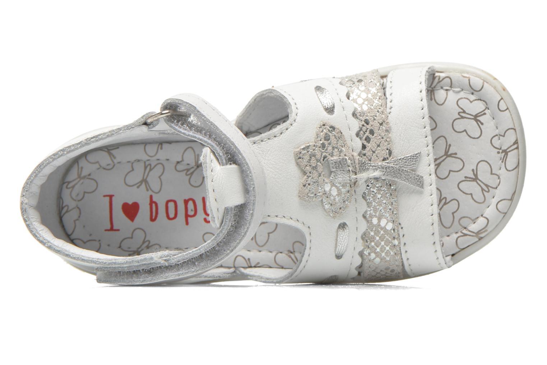 Sandales et nu-pieds Bopy Balivel Blanc vue gauche