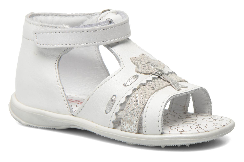 Sandales et nu-pieds Bopy Balivel Blanc vue détail/paire