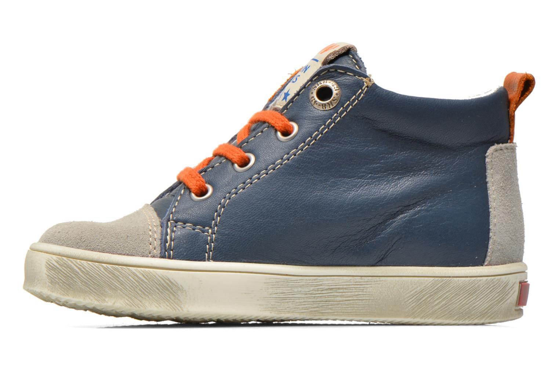 Sneaker Bopy Bamibie blau ansicht von vorne