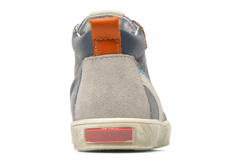 Sneaker Bopy Bamibie blau ansicht von rechts