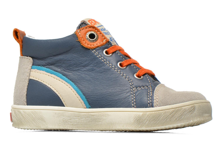 Sneaker Bopy Bamibie blau ansicht von hinten