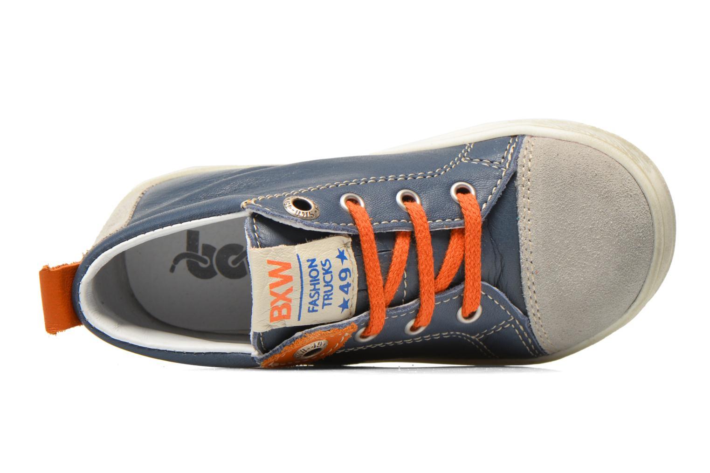 Sneaker Bopy Bamibie blau ansicht von links