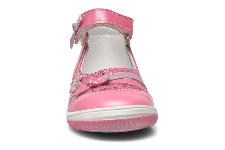 Ballerines Bopy Belene Rose vue portées chaussures