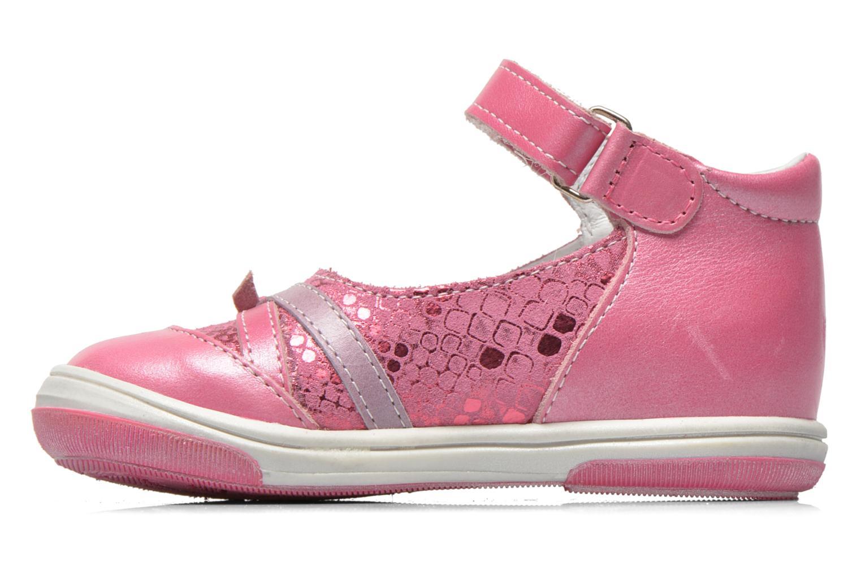 Ballerinas Bopy Belene rosa ansicht von vorne